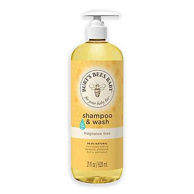 Burt's Bees® Baby Bee® 21 oz. Fragrance-Free Baby Shampoo & Wash