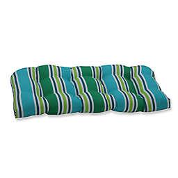 Pillow Perfect Stripe Loveseat Cushion