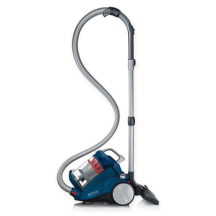 Alternate image 1 for Severin German-Engineered Bagless Vacuum Cleaner in Ocean Blue