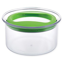 Guacamole Keeper with Lid in Clear/Green