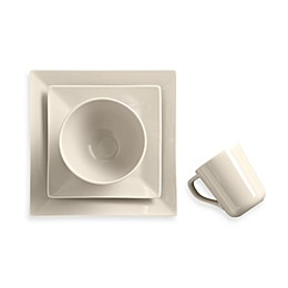 Real Simple® Square Dinnerware Collection in Ivory