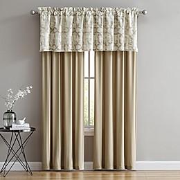 Belmont Window Panels in Gold/Ivory