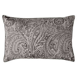 Charisma® Pierrefort Queen Pillow Sham in Silver