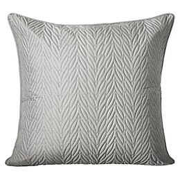 Charisma® Pierrefort Queen European Sham in Silver