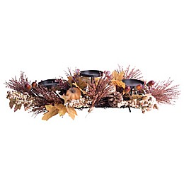 Home Essentials Harvest Centerpiece Candle Holder