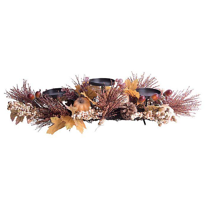 Alternate image 1 for Home Essentials Harvest Centerpiece Candle Holder
