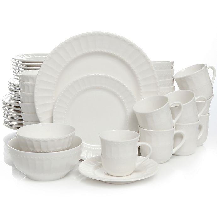 Alternate image 1 for Gibson Home Heritage Place 48-Piece Dinnerware Set