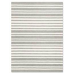 Safavieh Kids® Wide Stripe Hand Tufted Rug in Grey
