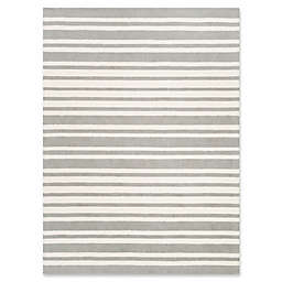 Safavieh Kids® Wide Stripe Hand Tufted Rug in Grey
