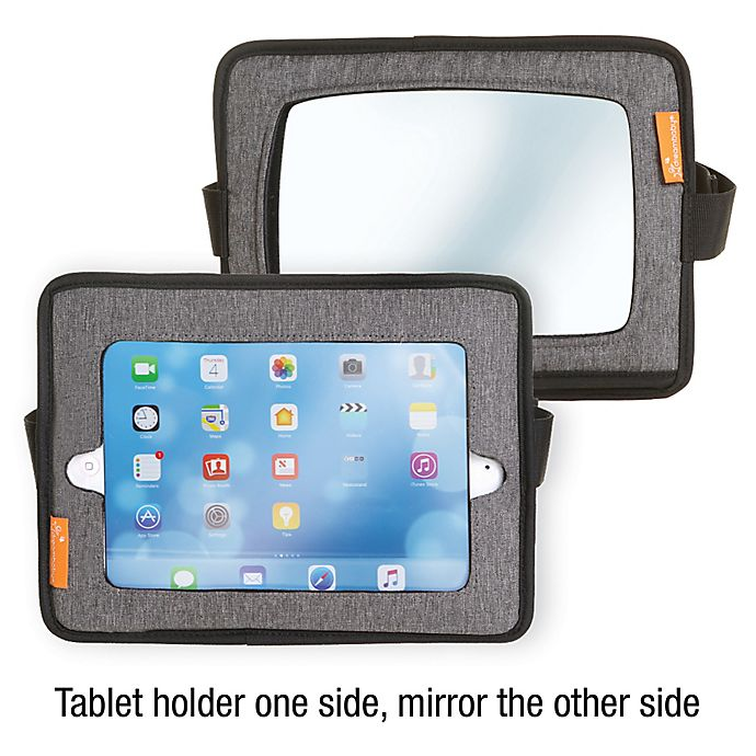Alternate image 1 for Dreambaby Backseat Mirror and Tablet Holder in Grey