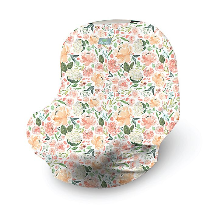 Alternate image 1 for Itzy Ritzy® Mom Boss 4-in-1 Multi-Use Cover in Peach