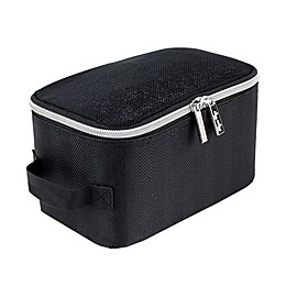 Itzy Ritzy® Packing Cubes in Black/Silver (Set of 3)