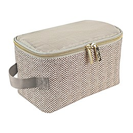 Itzy Ritzy® Packing Cubes in Taupe (Set of 3)
