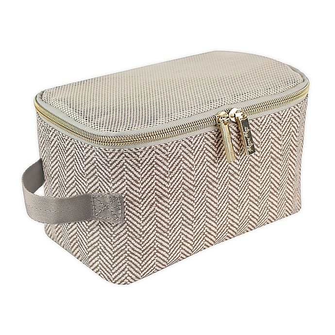 Alternate image 1 for Itzy Ritzy® Packing Cubes in Taupe (Set of 3)