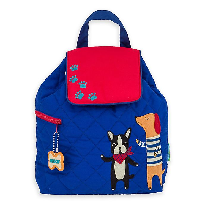 Alternate image 1 for Stephen Joseph Quilted Dogs Backpack