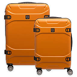 ful® Molded Detail Hardside Spinner Checked Luggage