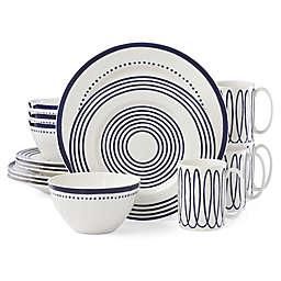 kate spade new york Charlotte Street West™ 16-Piece Dinnerware Set in Indigo