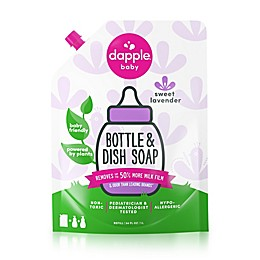 Dapple® 34 oz. Lavender Bottle & Dish Soap Refill