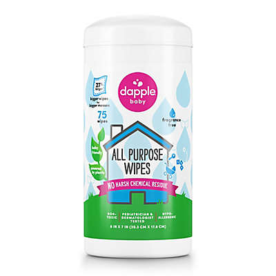 Dapple® 75-Count Fragrance-Free All Purpose Wipes