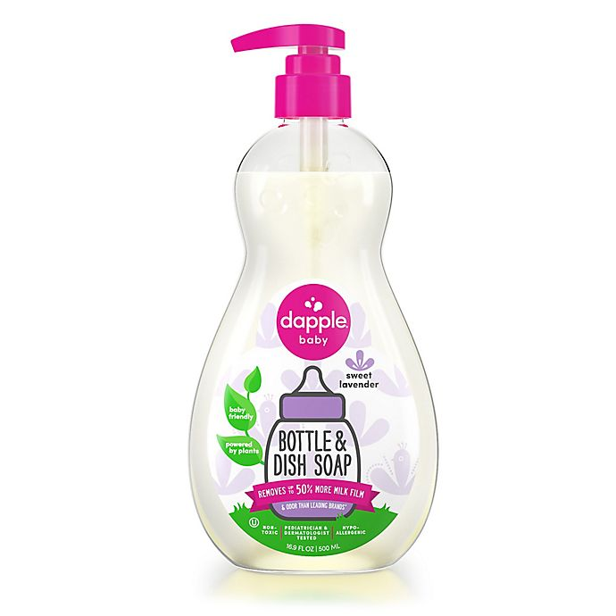 Alternate image 1 for Dapple® 16.9 oz. Lavender Bottle & Dish Soap