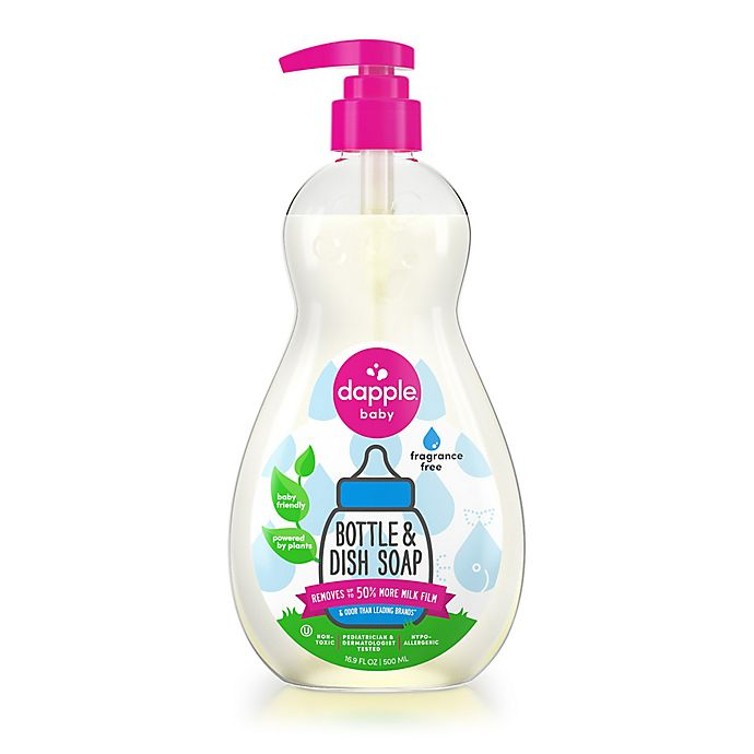 Alternate image 1 for Dapple® 16.9 oz. Fragrance Free Bottle & Dish Soap