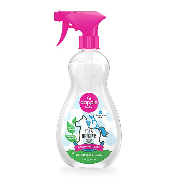 Alternate image 1 for Dapple® 16.9 fl. oz. Fragrance-Free Toy & Highchair Cleaner Spray