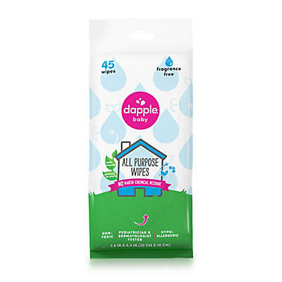 Dapple® 45-Count Fragrance-Free All Purpose Wipes Travel Pack