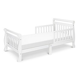 DaVinci Sleigh Toddler Bed in White