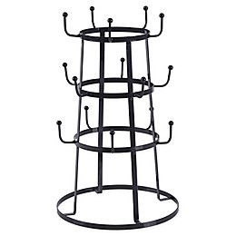 Bee & Willow™ Home 3-Tier Mug Tree in Dark Grey