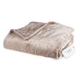 Brookstone® n-a-p® Heated Plush Throw