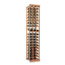 Wine Enthusiast N'FINITY 3-Column Wine Rack Kit with Display in Natural