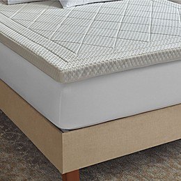 Therapedic® Deluxe Quilted 3-Inch Memory Foam Bed Topper