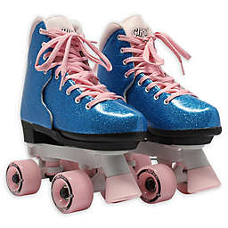 Adjustable Size 3-7 Roller Skates in Bubblegum