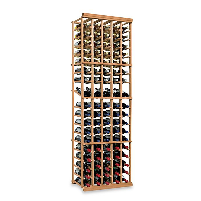 Alternate image 1 for Wine Enthusiast N'FINITY 5-Column Wine Rack Kit with Display in Natural