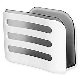 Casabella® Linear In-Sink Sponge Holder in White/Grey