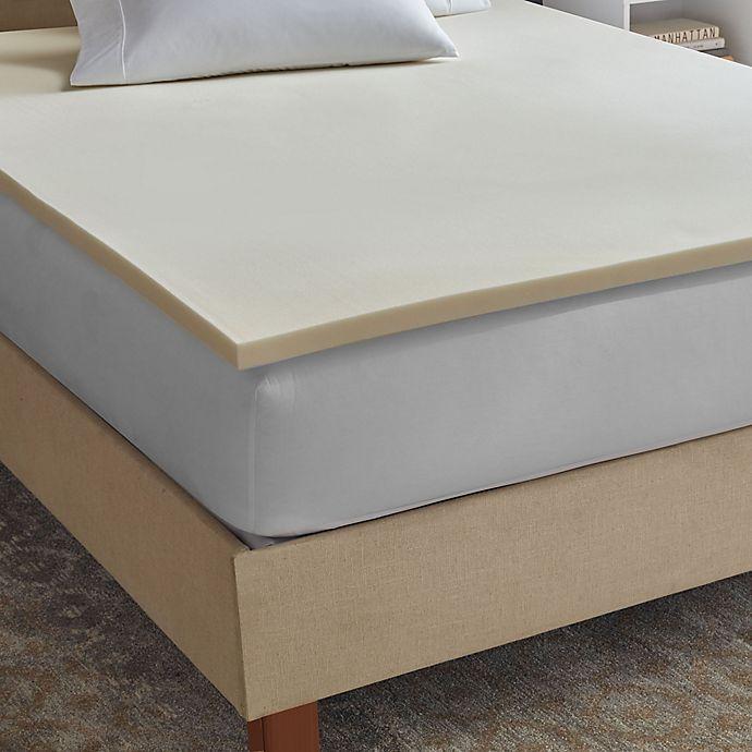 check out 0169b efab8 Therapedic® Sleepsmart 1.5-Inch Memory Foam Mattress Topper ...