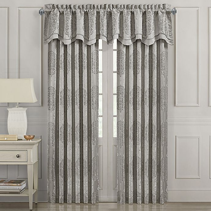 Alternate image 1 for J. Queen New York™ Constantine Window Curtain Panel and Valance