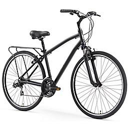 sixthreezero Body Ease Men's 26-Inch 21-Speed Comfort Bike in Matte Black