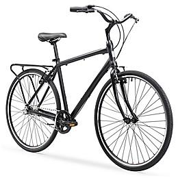 sixthreezero Explore Your Range Men's 26-Inch 3-Speed Bicycle in Matte Black