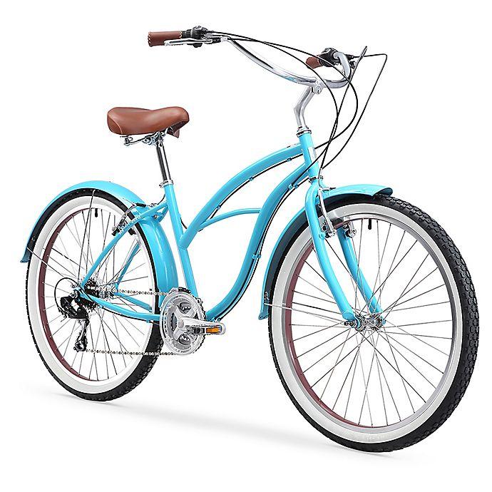 Alternate image 1 for sixthreezero Women's Classic 26-Inch 7-Speed Beach Cruiser Bicycle