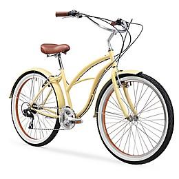 sixthreezero Women's Classic 26-Inch 7-Speed Beach Cruiser Bicycle