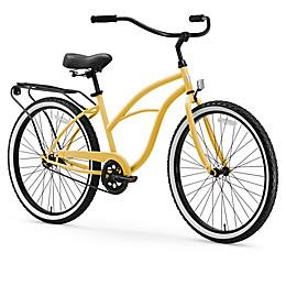 sixthreezero Around the Block Women's 26-Inch Single Speed Cruiser Bicycle