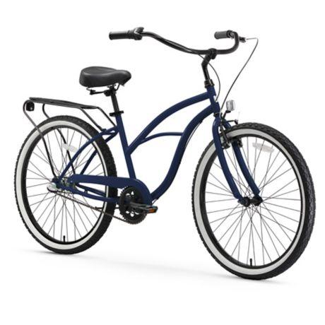 0c996667515 sixthreezero Around the Block Women's 26-Inch 3-Speed Cruiser Bicycle in  Navy | Bed Bath & Beyond