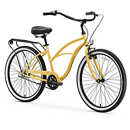 sixthreezero Around the Block Women's 26-Inch 3-Speed Cruiser Bicycle in Navy