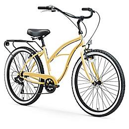 sixthreezero Around the Block Women's 26-Inch 7-Speed Cruiser Bicycle