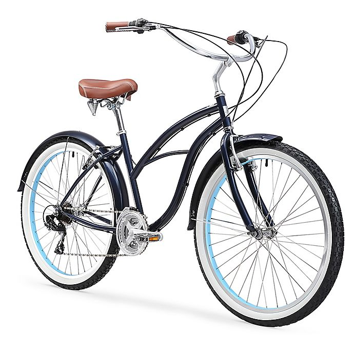 "SixThreeZero Classic Edition 7 Speed Women/'s 26/"" Beach Cruiser Bicycle Bike NEW"