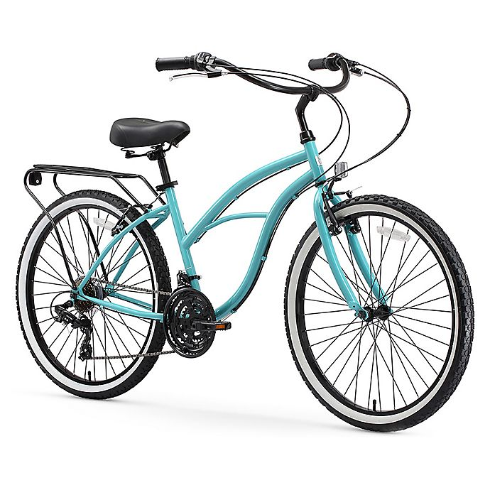 Alternate image 1 for sixthreezero Around the Block Women's 24-Inch 21-Speed Cruiser