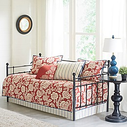Madison Park Lucy 6-Piece Cotton Twill Printed Daybed Set