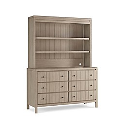 ED Ellen Degeneres Autry Hutch/Bookcase in Oatmeal