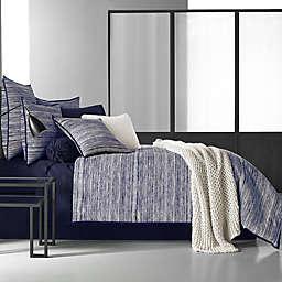 Oscar/Oliver Flen Comforter Set in Black